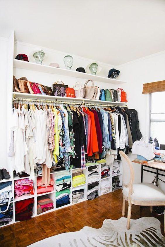 7 Ideas To Transform A Spare Room Into Closet Daily