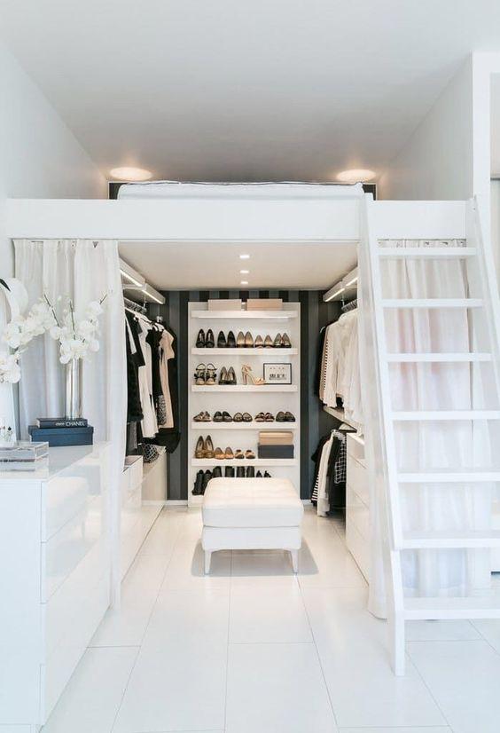 7 Ideas to transform a spare room into a closet