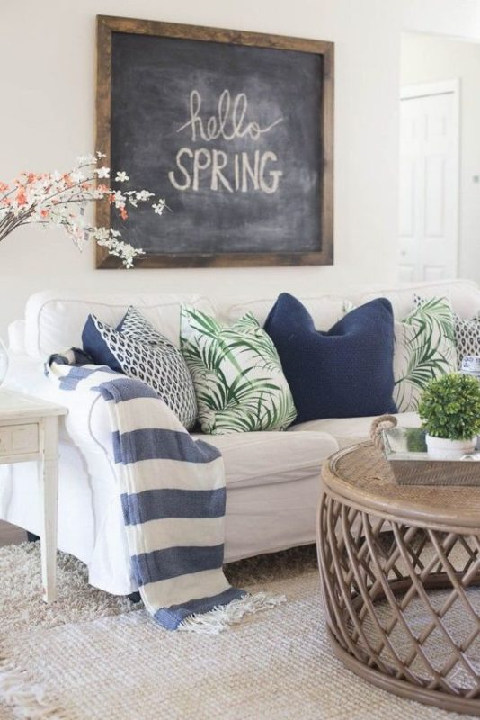 2017 Spring Home Tour: 8 Tips On How To Refresh Your Home For Spring