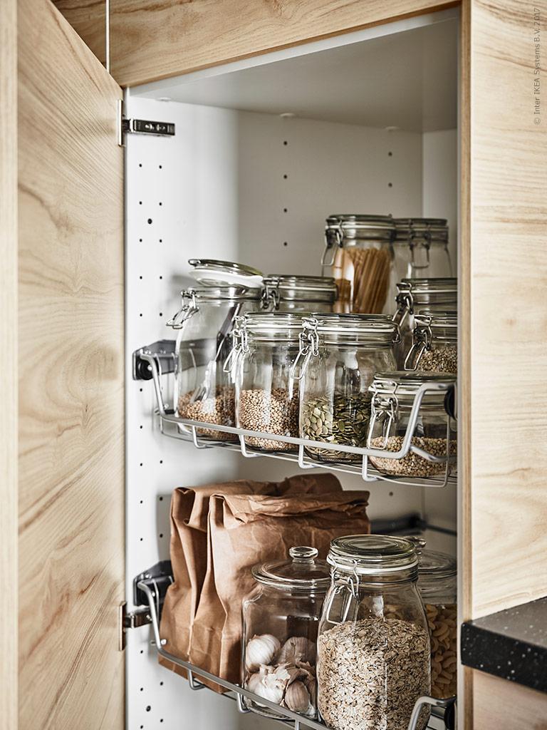 a cool scandi ikea kitchen