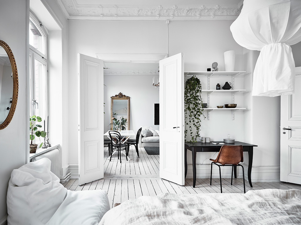 dreamy white apartment13