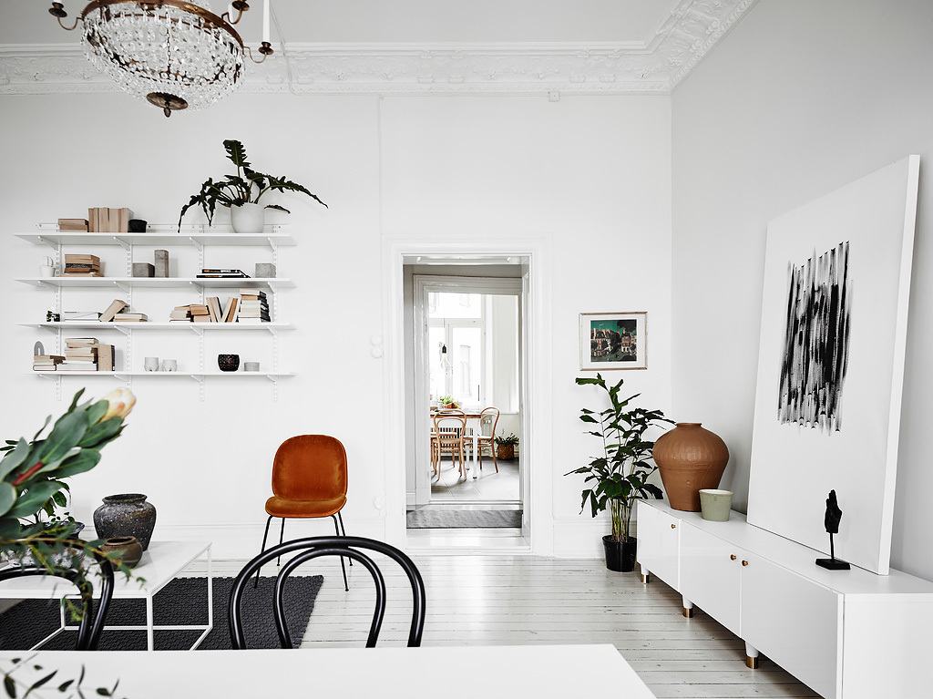 dreamy white apartment8