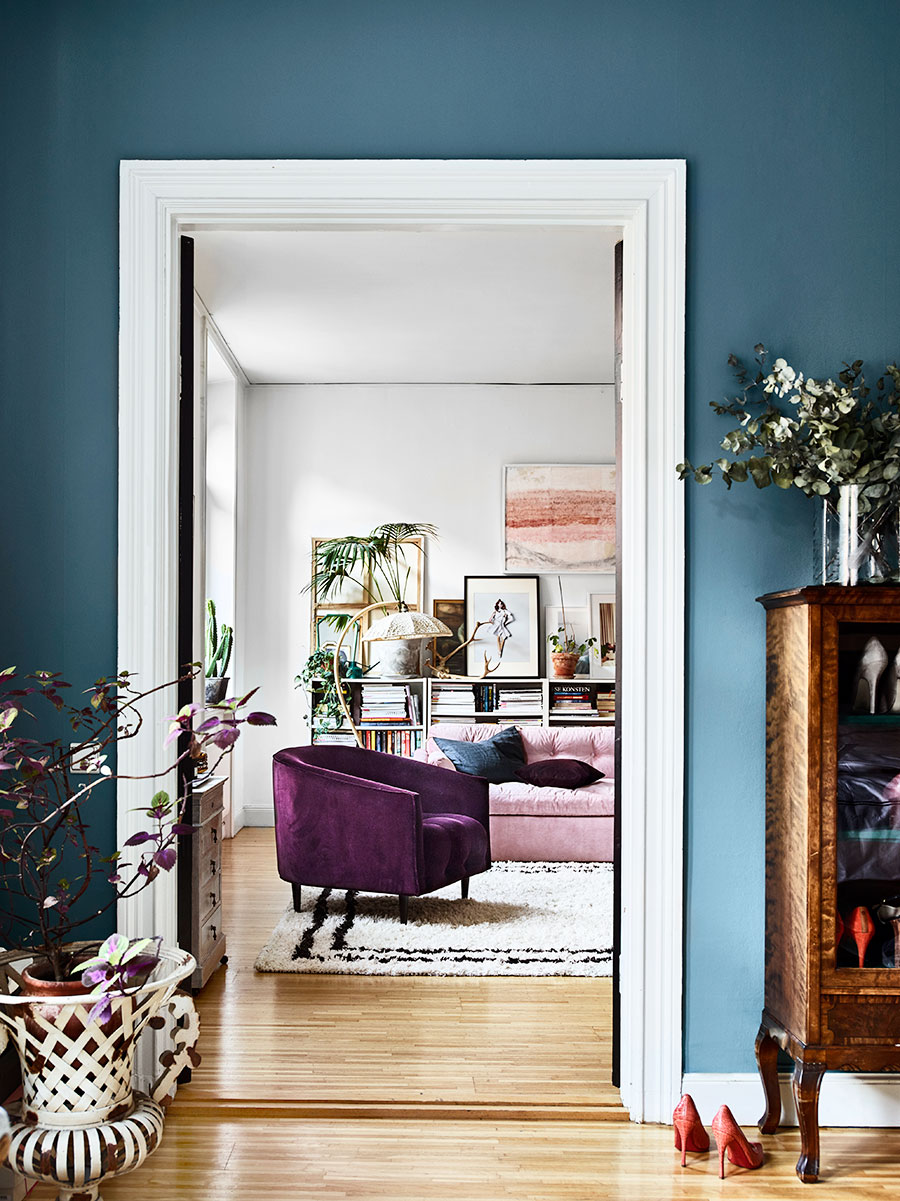 feminine eclectic home 2