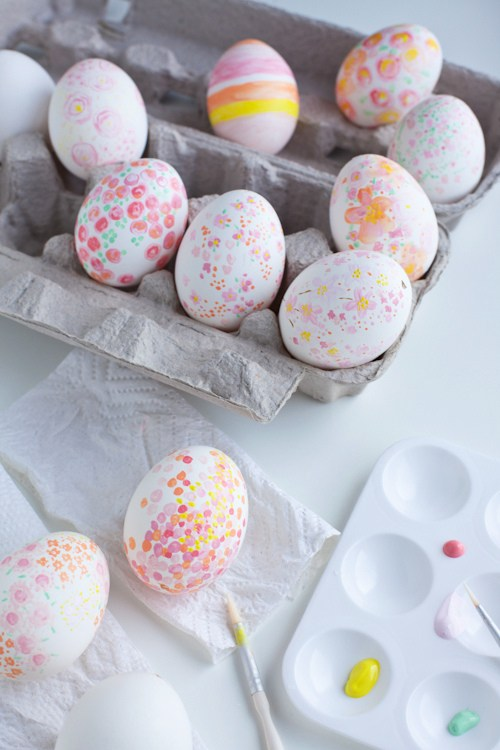 8 New dreamy ways to decorate Easter eggs