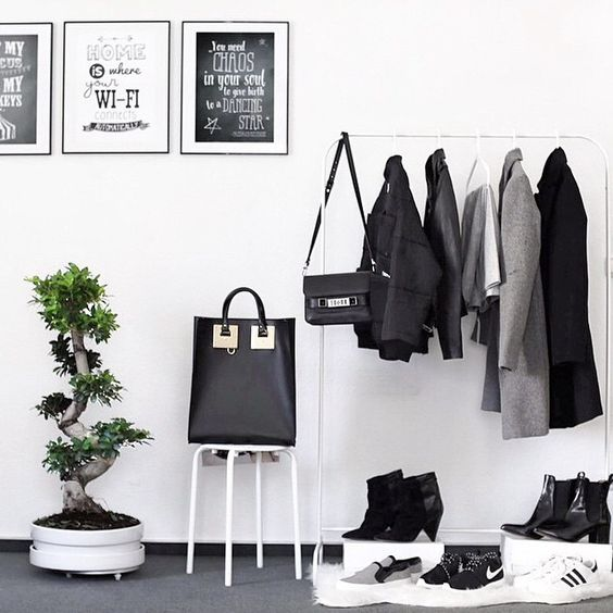 6 Dreamy ways to personalize your clothes rack
