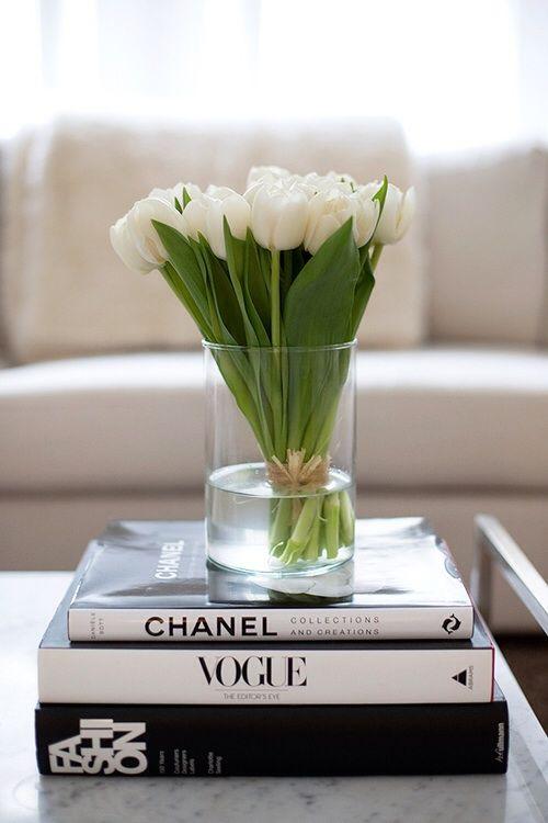 tulips coffee table