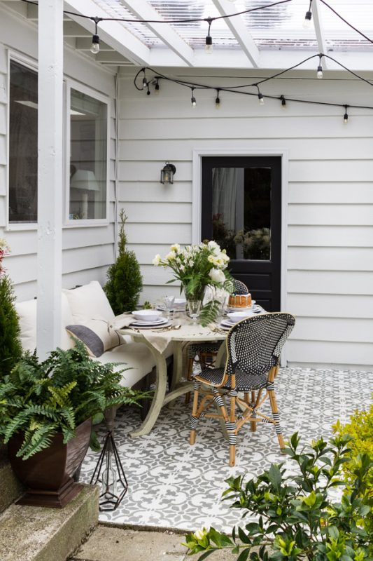 Creating the Perfect Patio Daily Dream Decor