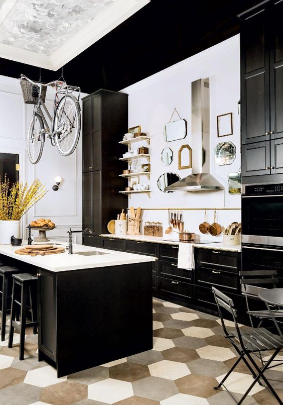 French Bistro Style A Popular Kitchen Trend Right Now
