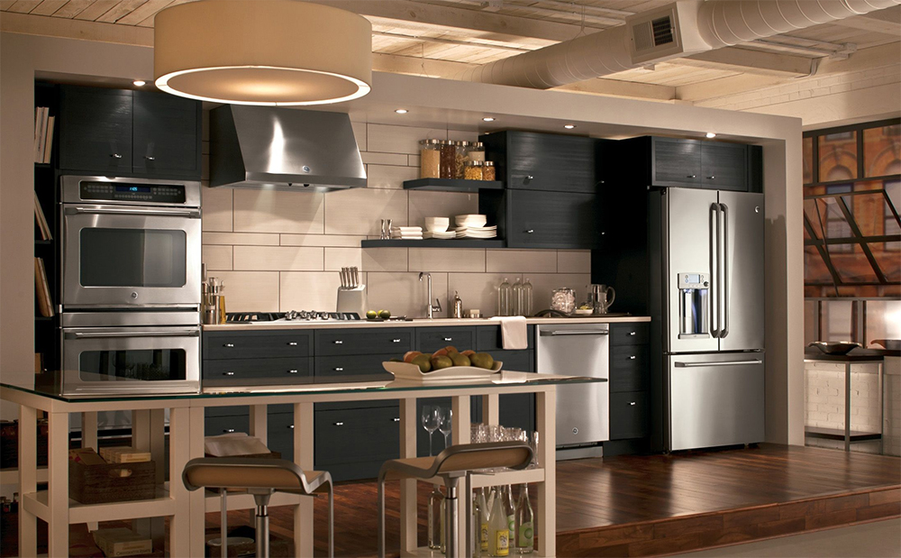 marvellous industrial chic kitchen | Working the industrial chic kitchen look - Daily Dream Decor