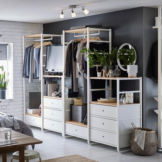 8 new ikea items you need for your bedroom this summer for Ikea armadi a giorno