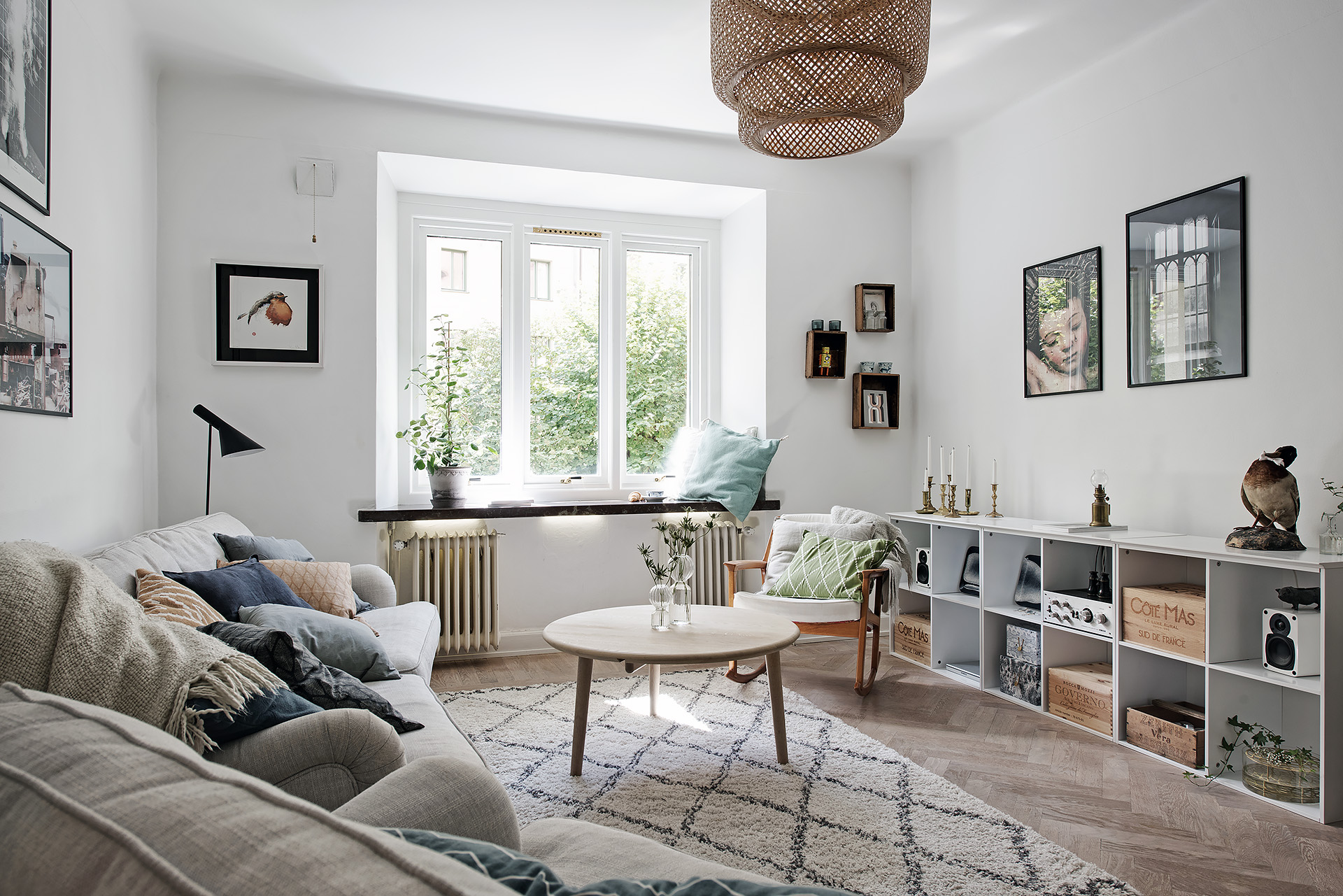 Small Living Room Decoration 6 Smart Ideas To Make It: A Dreamy & Cozy Scandinavian Apartment