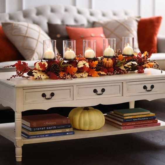 Fall Decorating Ideas For The Dining Room: 6 Dreamy Ways To Decorate Your Living Room For Fall