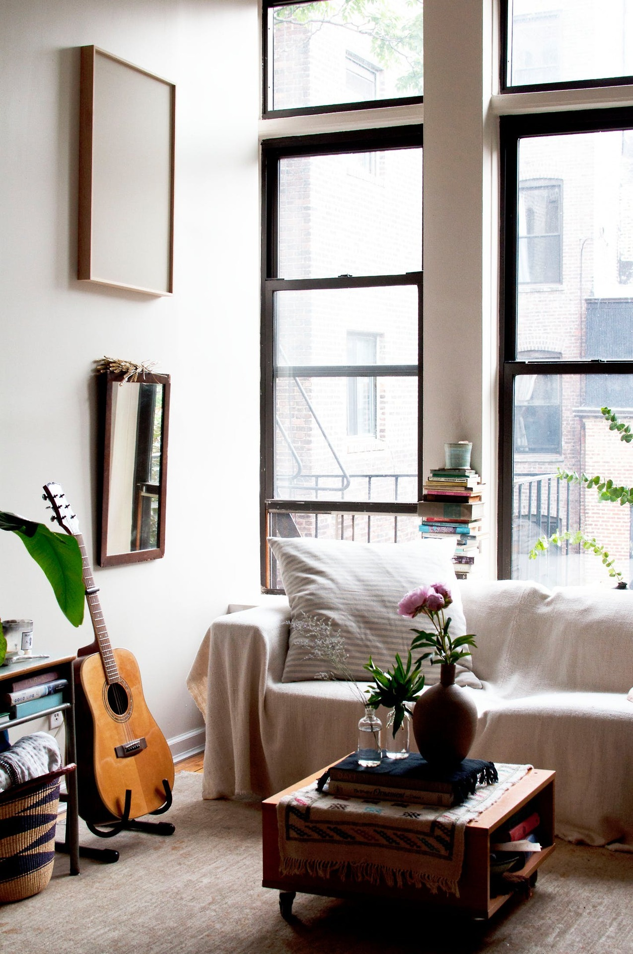 A Dreamy Bohemian Brooklyn Studio Apartment