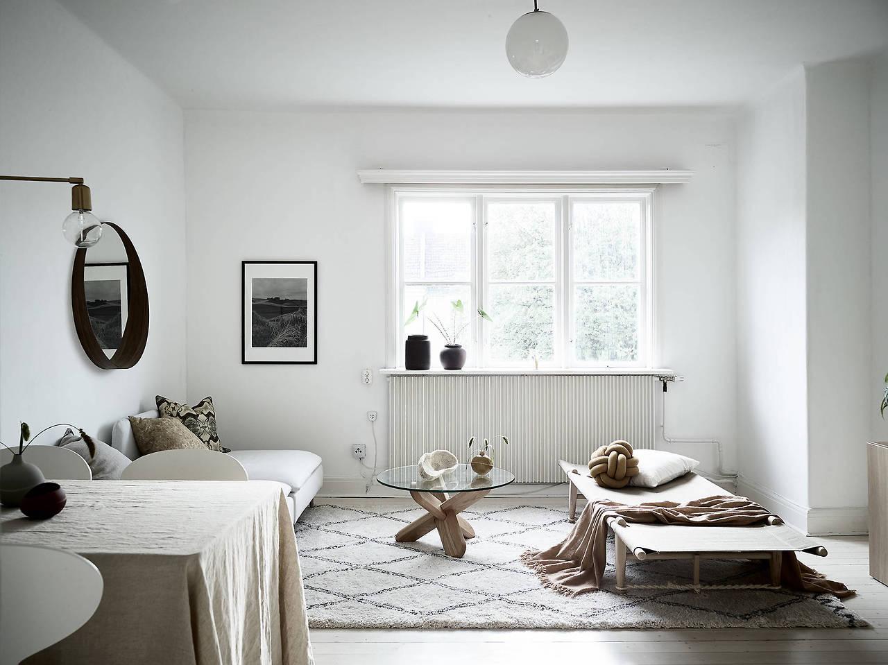 Dreamy warm scandinavian apartment daily dream decor - Apartment living room decor ...