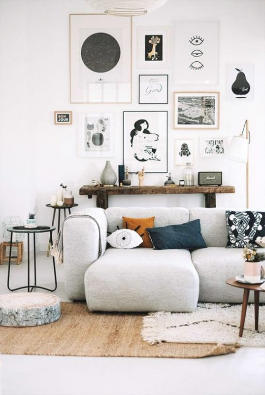 7 enchanting ways to make a small space look creative for Living room on main