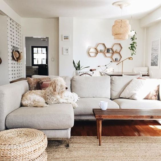 7 gorgeous scandi living rooms that welcome winter daily for Neutral front room ideas