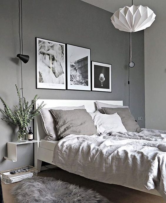 Grey Bedroom Ideas With Calm Situation: 7 Splendid Grey Bedrooms That Will Make You Dream About