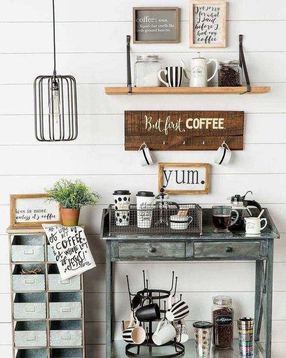 Home Decor Shop Design Ideas: 6 Splendid Corners That Coffee Lovers Will Be Smitten With