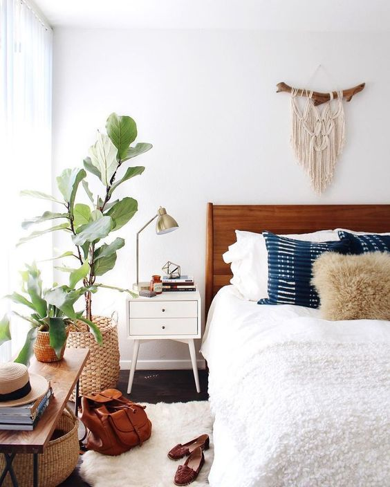 6 Boho bedrooms that will make you daydream - Daily Dream ... on Modern Boho Decor  id=47403