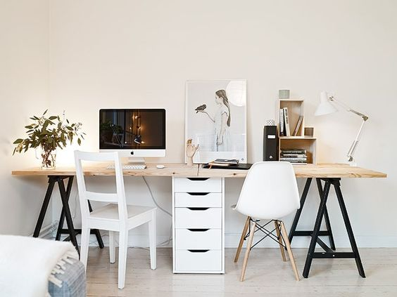 5 Dreamy Solutions For A Small Firm Or Office E Under 200 Square Feet Daily Dream Decor