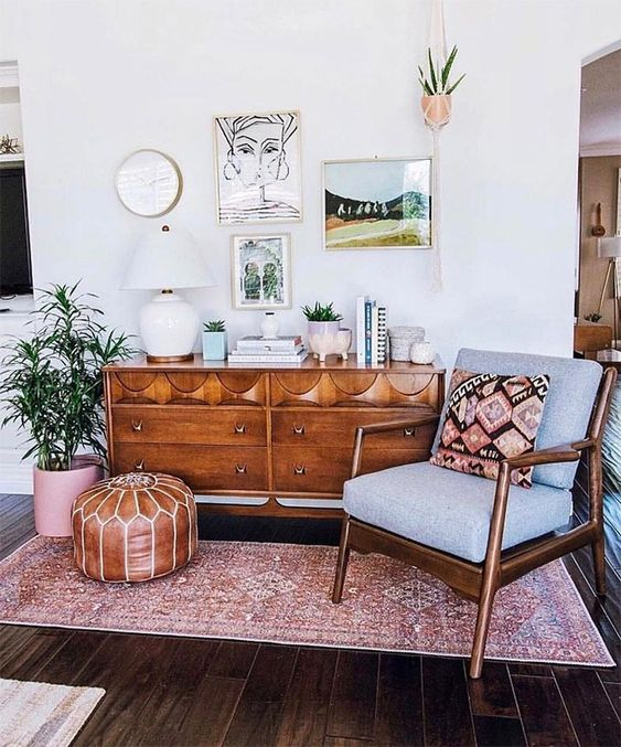 6 Boho living room spaces that will wow you this fall ...