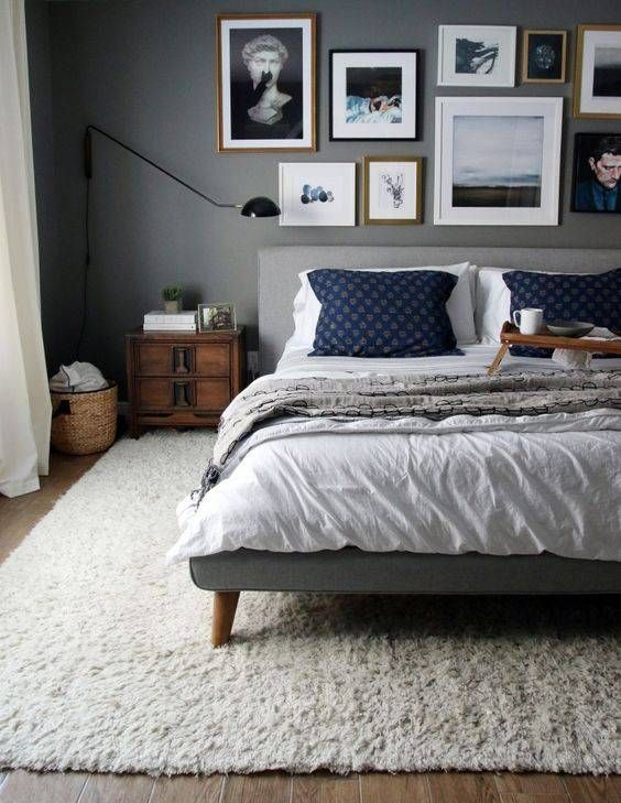8 Dreamy dark bedrooms you will love for the cold season - Daily ...