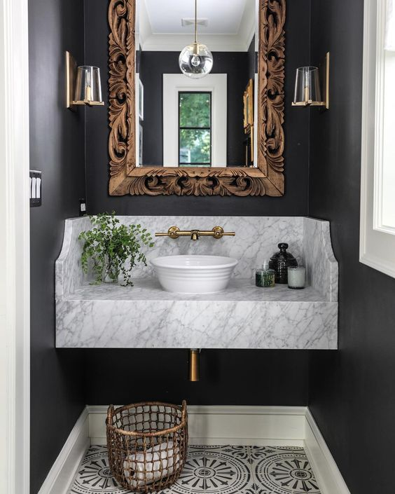 10 Great Ideas To Jazz Up A Small Square Bedroom: 7 Ways To Jazz Up Your Powder Room