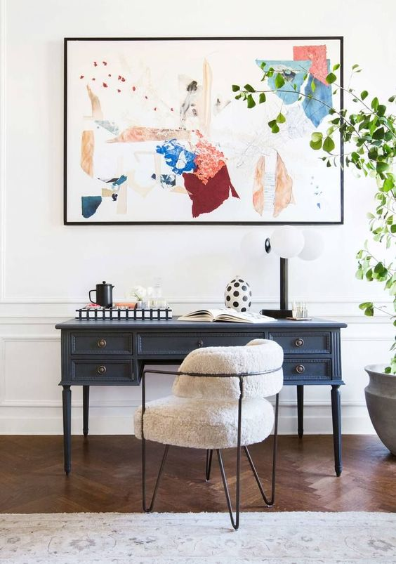 An Artsy Home Office