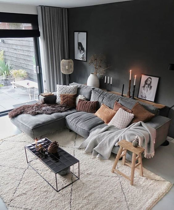 Scandinavian Interior Apartment With Mix Of Gray Tones: 10 Dreamy Scandinavian Interiors You'll Love Right Now