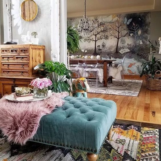 Fantastic 7 Bohemian Interiors For A Darling Spring Daily Dream Decor Download Free Architecture Designs Embacsunscenecom
