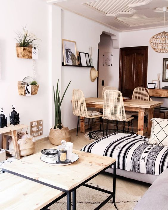 7 Bohemian interiors for a darling spring