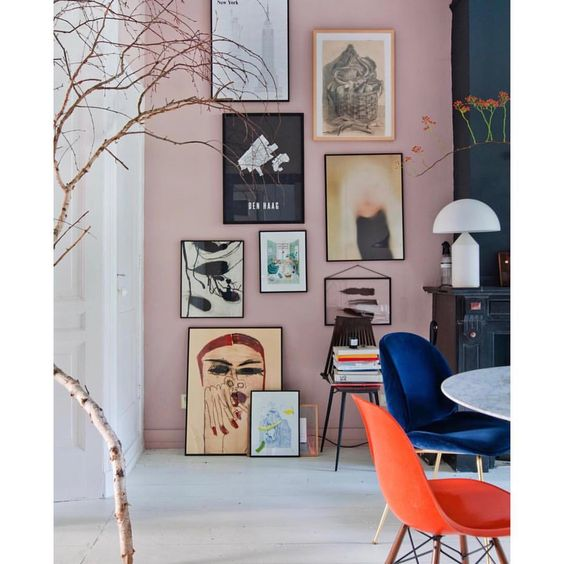 5 Reasons why the colorful gallery wall trend is so popular right now