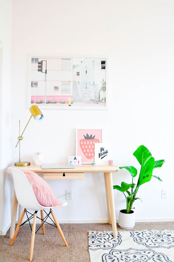 6 Dreamy office spaces that welcome Spring