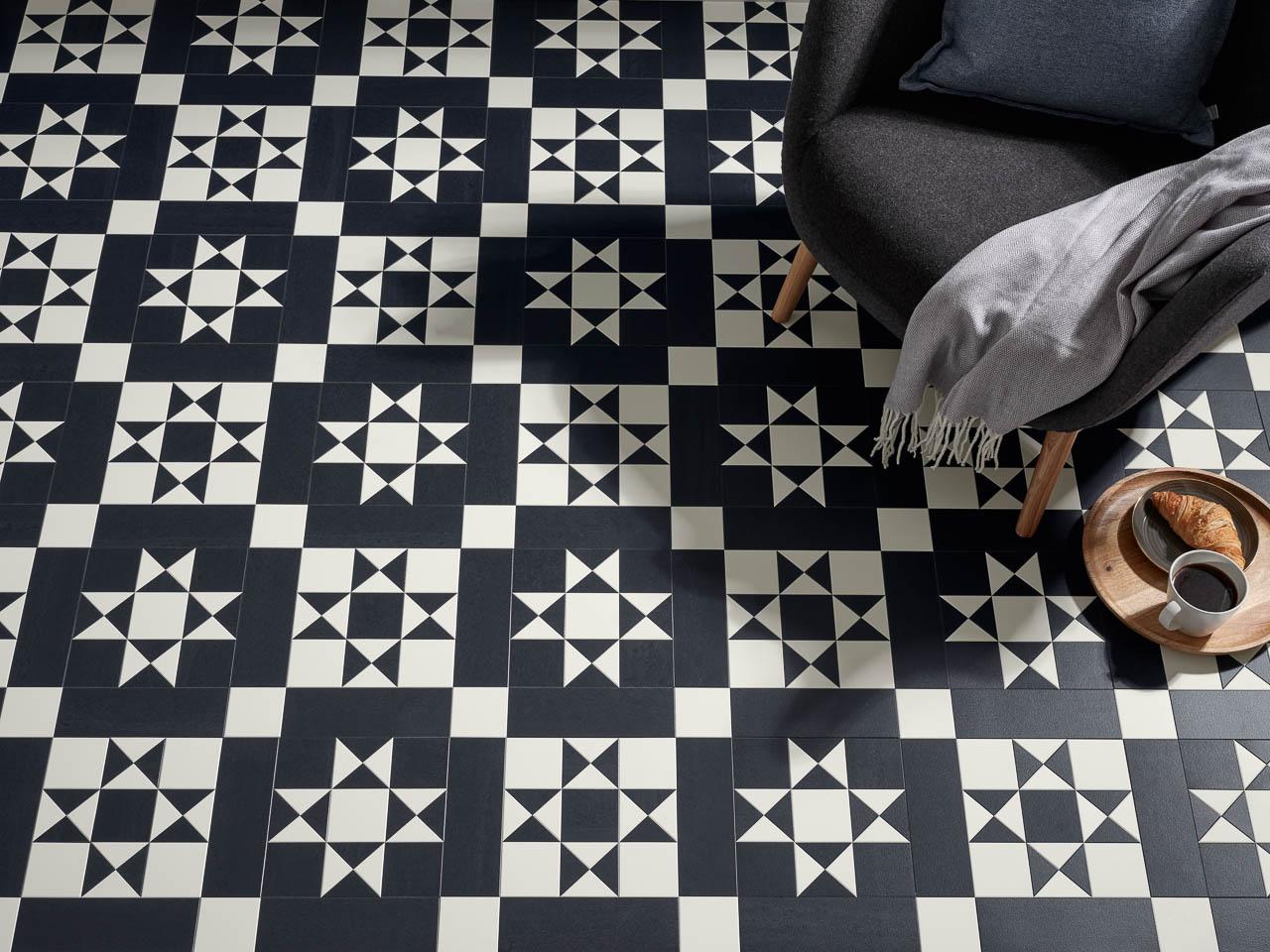 Trend watch: black & white plus geometrical