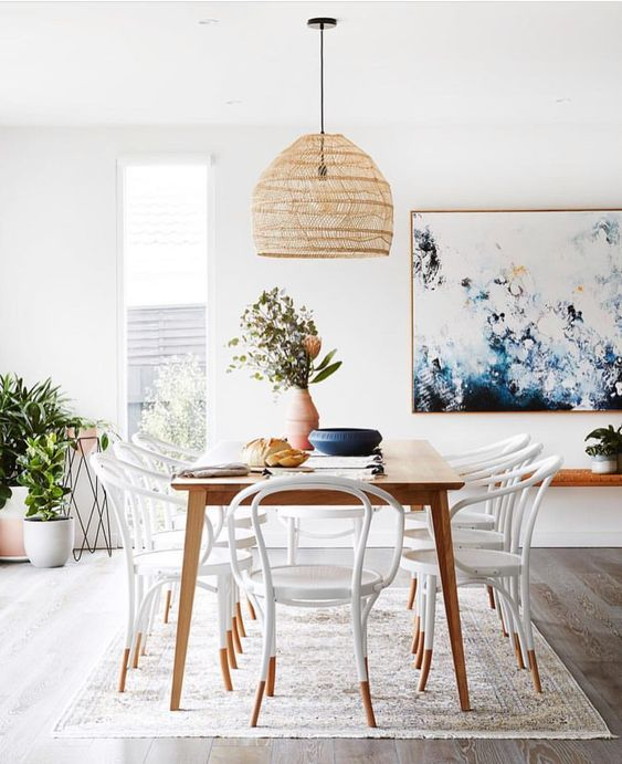 Rattan lamps – The calm and dreamy trend for a gorgeous spring