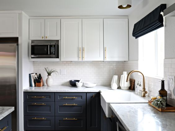 6 Two Toned Kitchen Cabinets The Combo You Should Try For