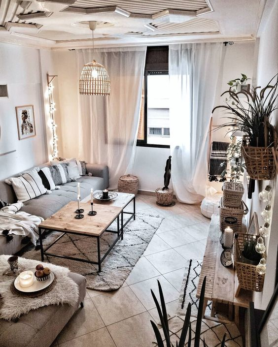 Living Room Decor Inspiration: 8 Cozy And Rustic Living Room Ideas For Spring