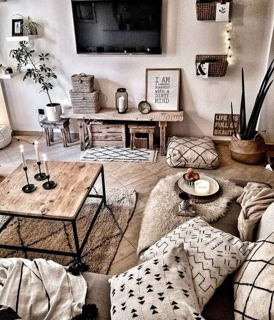 Rustic Living Room Decorating Ideas: 8 Cozy And Rustic Living Room Ideas For Spring