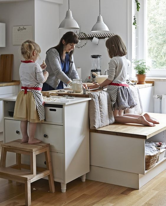 Kid Friendly Kitchen Design Ideas For Moms With Young Children Daily Dream Decor