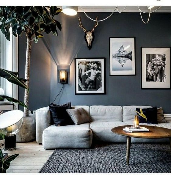 10 Dark Living Room Ideas That Will Welcome Autumn Daily Dream Decor
