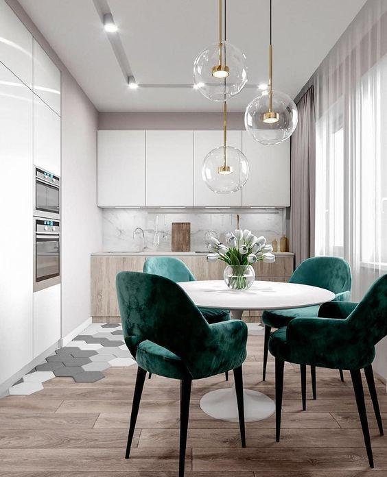 6 Art Deco Kitchens That Will Make This Season More Elegant Daily Dream Decor