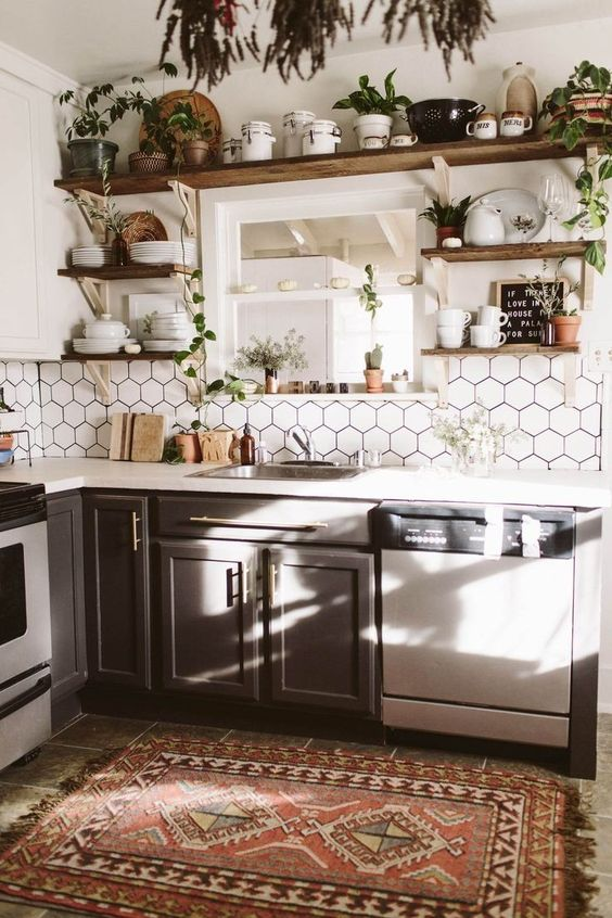 How To Create A Boho Kitchen
