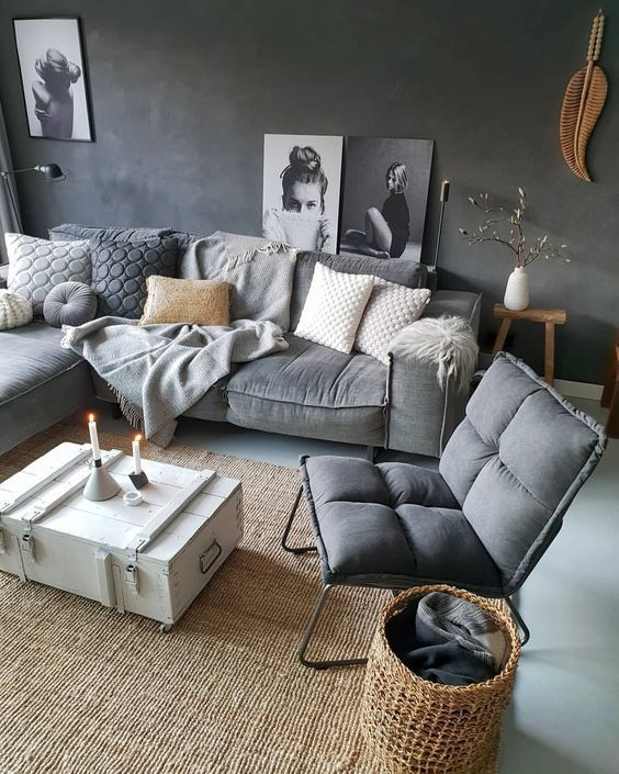 7 Modern and comfortable living rooms that will make your ...