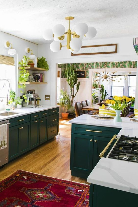 6 Ideas On How To Incorporate Plants Into Your Kitchen Daily Dream Decor