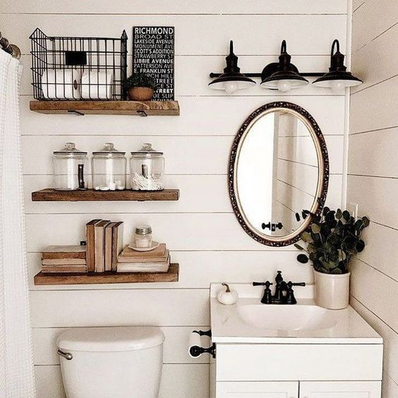 6 Over The Toilet Storage Ideas For Small Bathrooms Daily Dream Decor