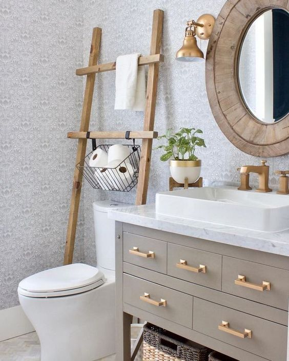6 Over The Toilet Storage Ideas For