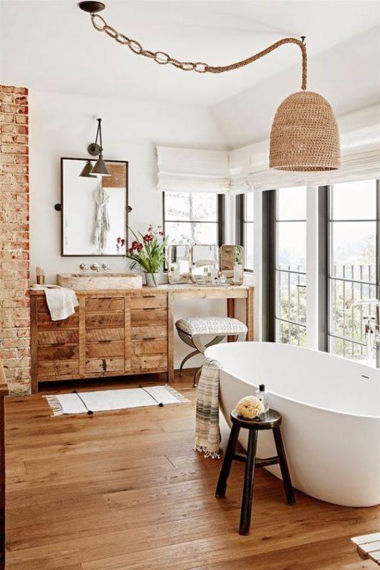 6 Stunning Wooden Floor Bathroom Ideas Daily Dream Decor,United Premium Economy International