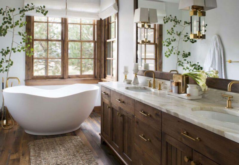 6 Stunning Wooden Floor Bathroom Ideas Daily Dream Decor