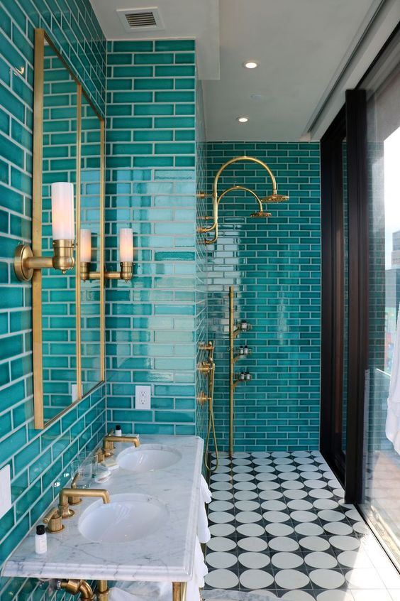 7 Wonderful Teal Bathroom Ideas Daily