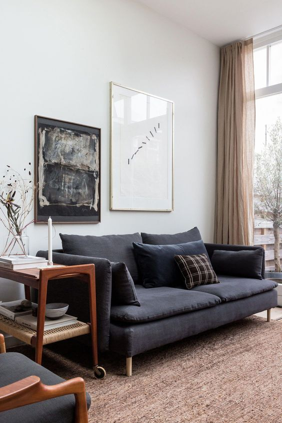 9 Dreamy small grey living rooms that will inspire you ...